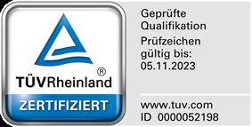 Geprüfte Qualifikation - Herr Canbay wurde vom TÜV Rheinland  zertifiziert als Kfz Sachverständiger